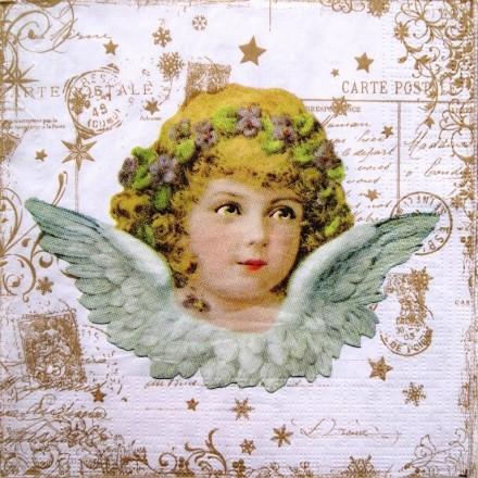 Χαρτοπετσέτα για Decoupage, Vintage Angel / 333-1082