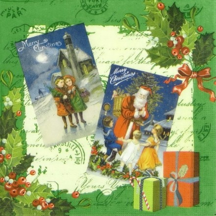 Χαρτοπετσέτα για Decoupage, Holidays Emotions / 333-1409