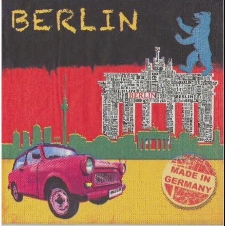 Χαρτοπετσέτα για Decoupage, Berlin / 7450