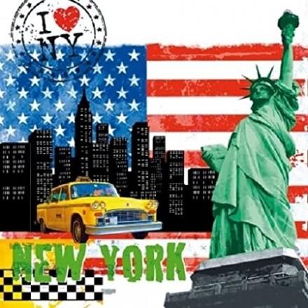 Χαρτοπετσέτα για Decoupage, New York City / 7452