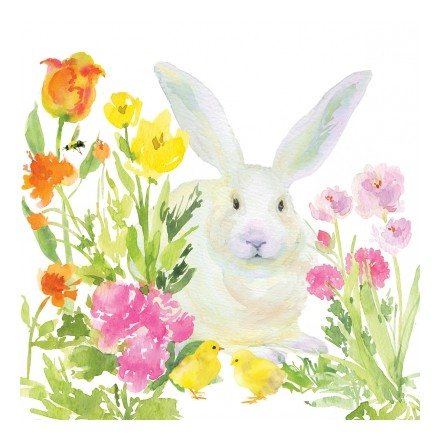 Πασχαλινή Χαρτοπετσέτα για Decoupage, Oh, so Bunny! / 133-1884