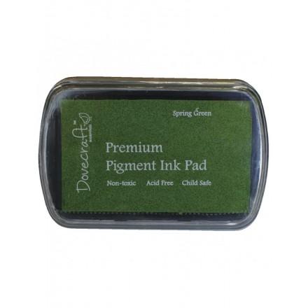 Ταμπόν (Μελάνι) για σφραγίδες 7.5x5cm DoveCraft, Spring Green / RA28990426