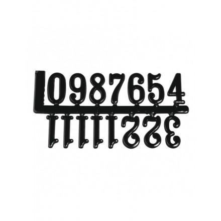 Αραβικοί Αριθμοί για Ρολόι Αυτοκόλλητοι 20mm