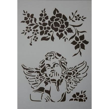 Stencil 21x29cm