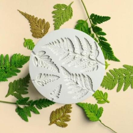 Καλούπι Σιλικόνης 9 x 0,7cm, Φύλλα / SM0415