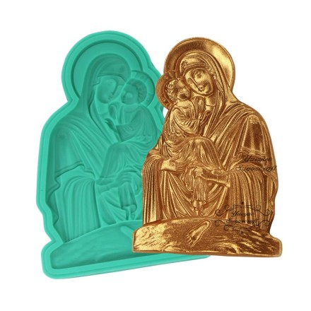 Καλούπι Σιλικόνης 7 x 4.8cm, Παναγία & Χριστός / SM0420