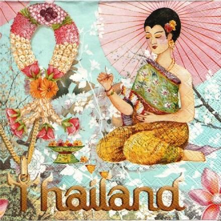 Χαρτοπετσέτα για Decoupage, Thailand / LU171321