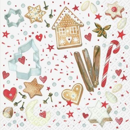 Χριστουγεννιάτικη Χαρτοπετσέτα για Decoupage, Magali / 2572-6654-20