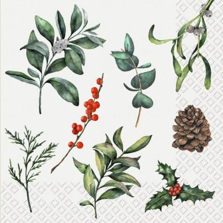 Χριστουγεννιάτικη Χαρτοπετσέτα για Decoupage, Rohana / 2572-6102-60