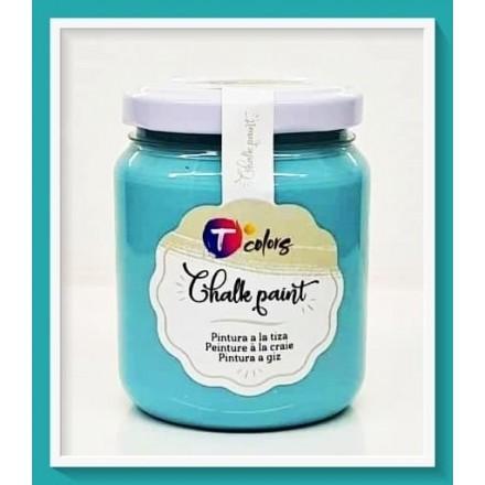 Χρώματα Κιμωλίας (chalky) TColors 175ml, Aquamarine