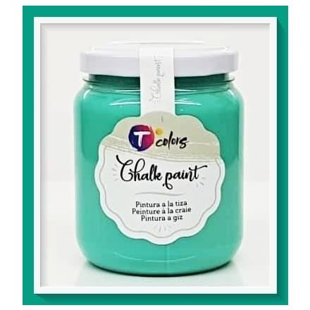 Χρώματα Κιμωλίας (chalky) TColors 175ml, Jade Green