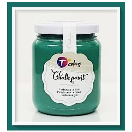 Χρώματα Κιμωλίας (chalky) TColors 175ml, Teal