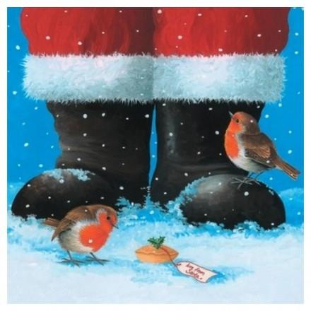 Χαρτοπετσέτα για Decoupage, Santas Gift / 310709