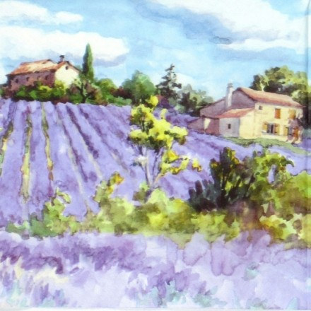 Χαρτοπετσέτα για Decoupage, Lavender Fields Forever / 344623