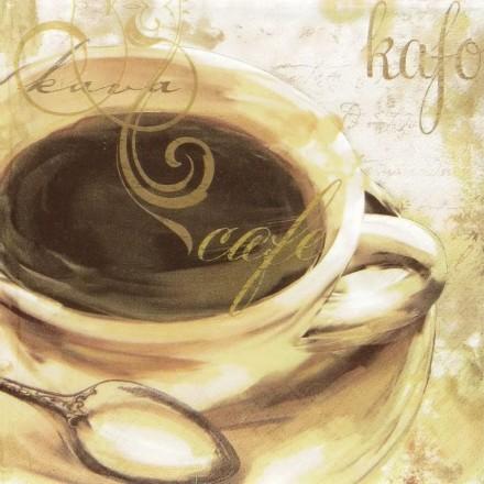 Χαρτοπετσέτα για Decoupage, Caffe Piacere / 344895