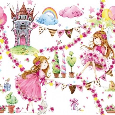 Χαρτοπετσέτα για Decoupage, Fairy Tale Princess / 371500