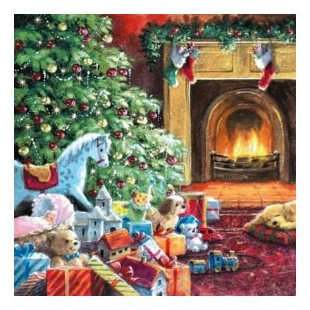 Χριστουγιεννιάτικη Χαρτοπετσέτα για Decoupage, Christmas Eve / 303540
