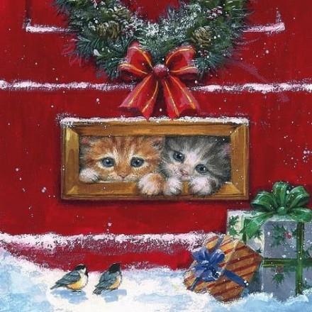 Χριστουγιεννιάτικη Χαρτοπετσέτα για Decoupage, Letterbox Talk / 310742