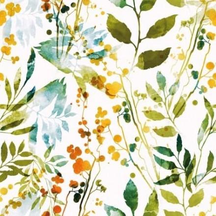 Χαρτοπετσέτα για Decoupage, Boho Leaves & Herbs multi / 343179