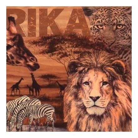 Χαρτοπετσέτα για Decoupage, Africa Collage / 346071