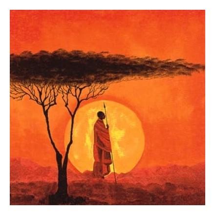 Χαρτοπετσέτα για Decoupage, African Sunset / 346071