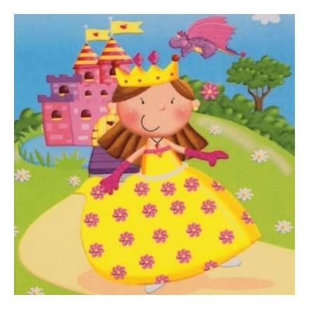 Χαρτοπετσέτα για Decoupage, Princess / 371739