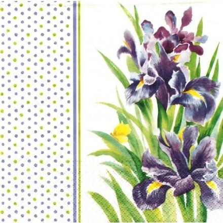 Χαρτοπετσέτα για Decoupage, Iris / TL326300