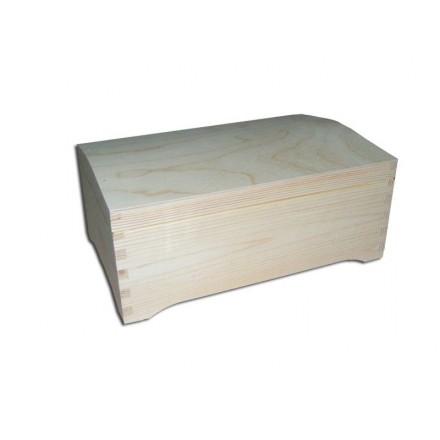Ξύλινο Μπαούλο με ποδαράκια, 30*20*12,5cm