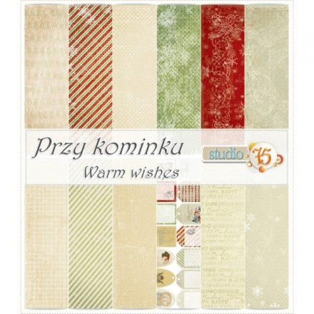 Χαρτιά Scrapbooking Collection Set (Warm wishes, 6τεμ)