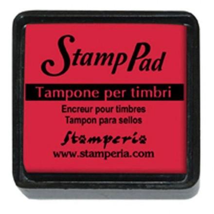Ταμπόν (Μελάνι) για σφραγίδες Stamperia 24x24mm, Red / WKP01P