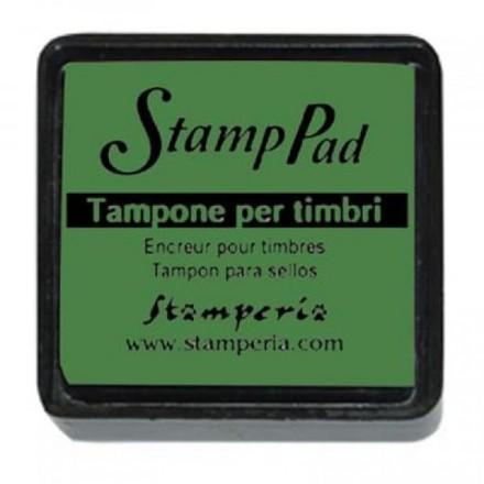 Ταμπόν (Μελάνι) για σφραγίδες Stamperia 24x24mm, Green / WKP02P