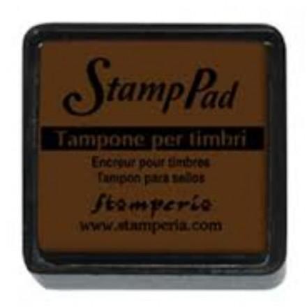 Ταμπόν (Μελάνι) για σφραγίδες Stamperia 24x24mm, Brown / WKP03P