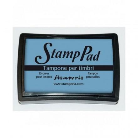 Ταμπόν (Μελάνι) για σφραγίδες Stamperia 7,5x5cm, Γαλάζιο / WKP07G