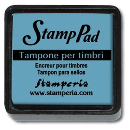 Ταμπόν (Μελάνι) για σφραγίδες Stamperia 24x24mm, Light Blue / WKP07P