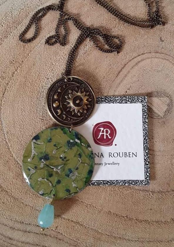 Σεμινάριο στις Μορφές, Κοσμήματα με Υγρό Γυαλί (Διήμερο) με την Αθηνά Ρουμπέν